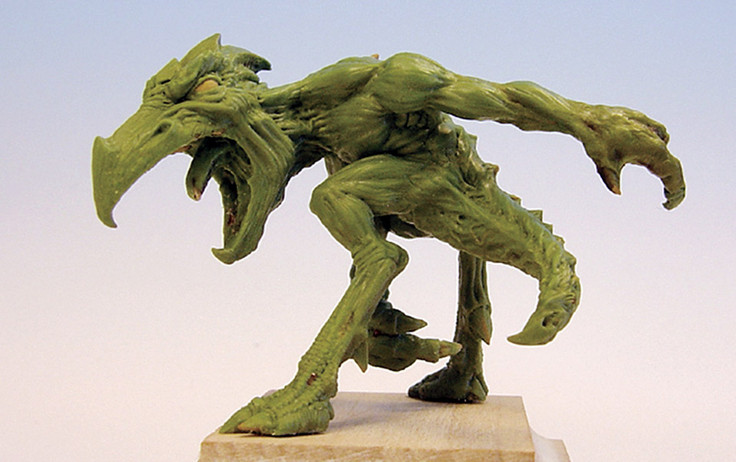 Yes It Is Easy To Sculpt A Monster Miniature Studio